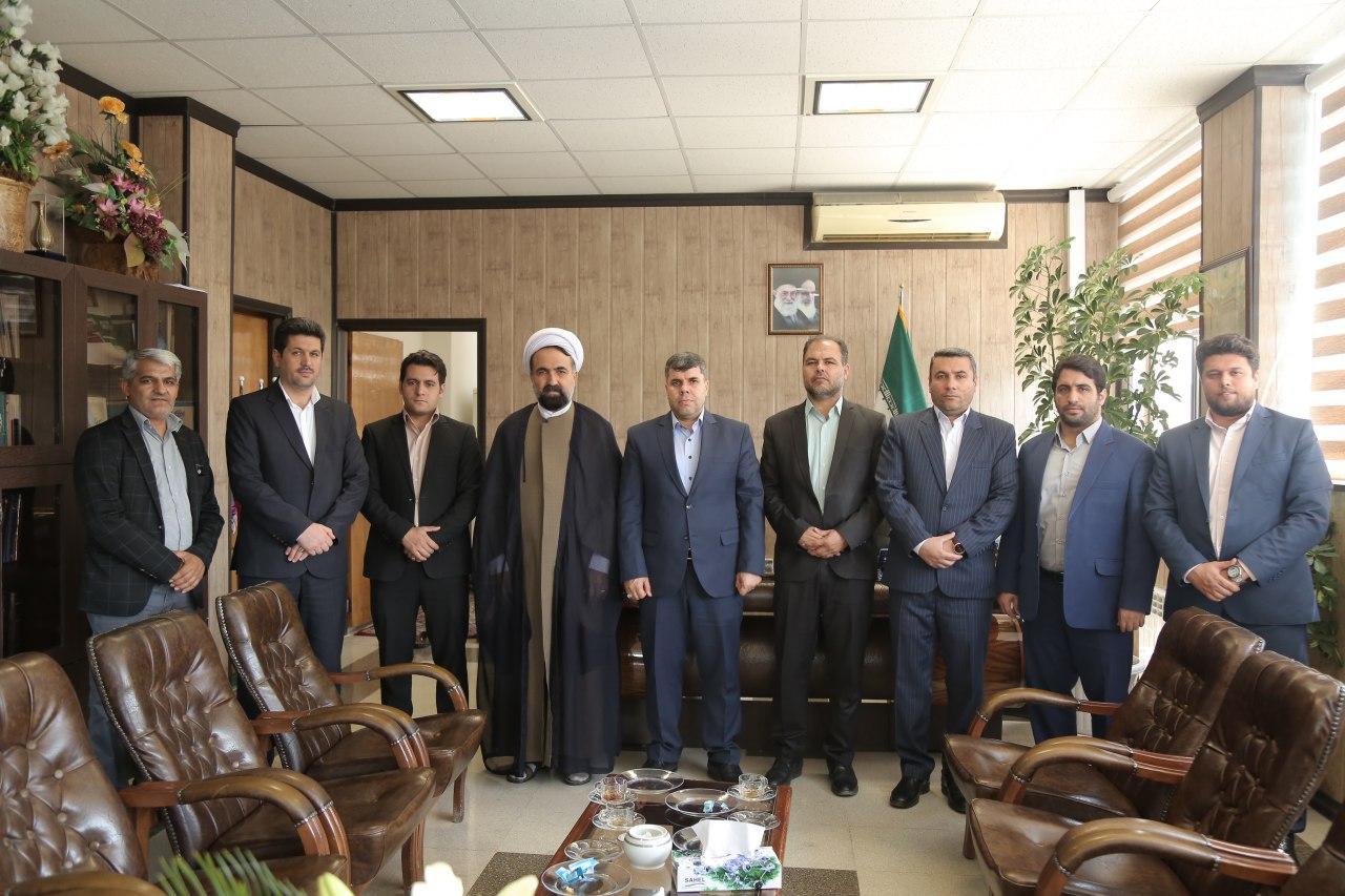 دیدار صمیمانه شهردار و اعضای شورای اسلامی باقرشهر با رئیس دادگاه کهریزک