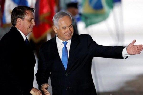 برزیل دفتر دیپلماتیک در بیت المقدس افتتاح کرد