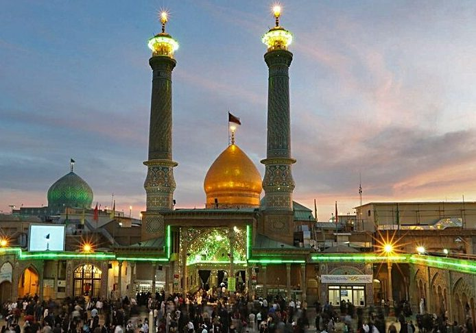 حرم عبدالعظیم (ع) آماده برگزاری جشن های دهه کرامت است