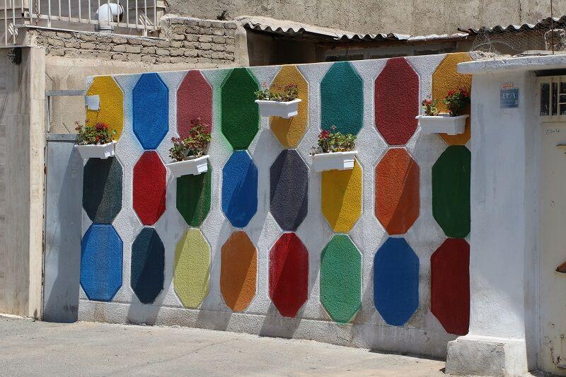 نخستین طرح کوچه رنگی پایتخت در شهرری اجرا شد