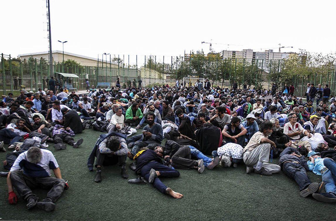 ۲۰ هزار و ۵۲۸ معتاد متجاهر در تهران جمع آوری شدند