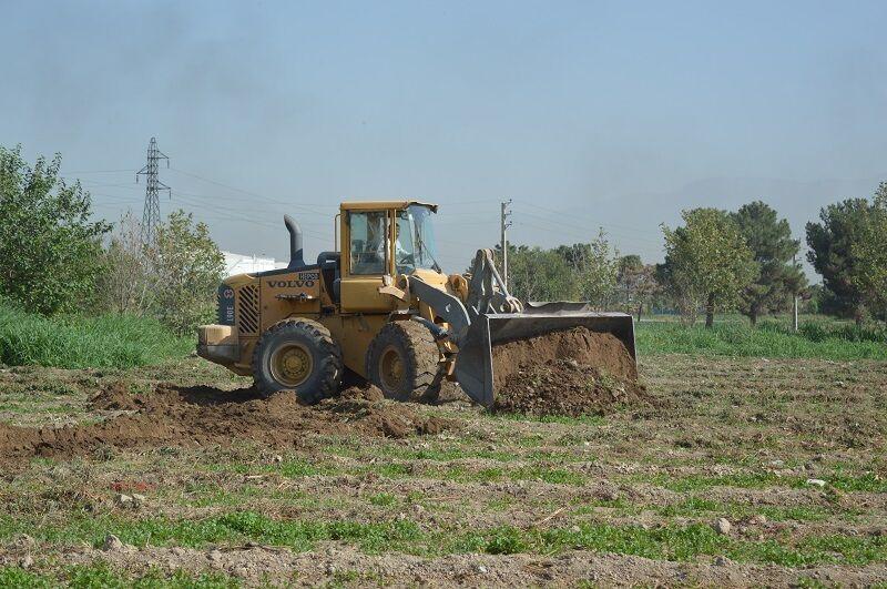 ۴۳ هکتار از اراضی شهرستان ری از آب های نامتعارف پاکسازی شد